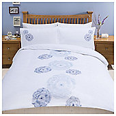 Conch Embroidery Duvet Set, Kingsize
