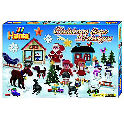Christmas Time 24 Designs - 5000 Midi Beads - Hama
