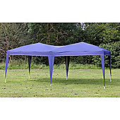 Palm Springs 10' X 20' Ez Pop Up Gazebo Party Tent Navy Blue