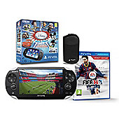 """PSVita WI-FI AND 3G (FIFA 14, DISNEY VOUCHER, 16GB CARD AND CASE)"""