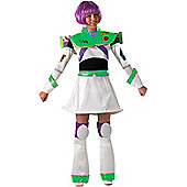 Female Buzz Lightyear Costume Small