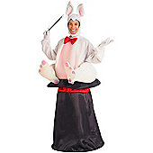 Adult Magic Hat Rabbit Costume