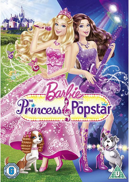 Barbie - The Princess And The Popstar (DVD)