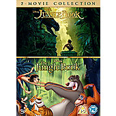 The Jungle Book Live Action & Animation DVD