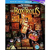 The Boxtrolls Blu-Ray