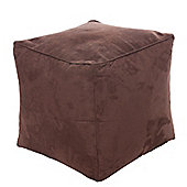 Kaikoo Cube Chair - Suede Chocolate