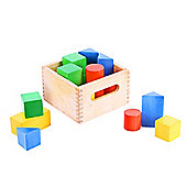 Bigjigs Toys BB003 First Basic Blocks