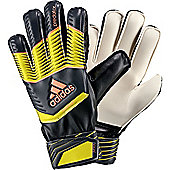 Adidas Predator Fingersave Junior Goalkeeper Gloves - Black