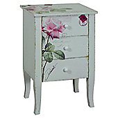 Alterton Furniture Rose 3 Drawer Bedside Table