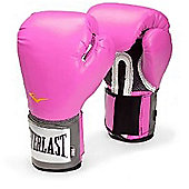 Everlast Womens Pro Style Training Glove Pink 14oz