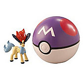 Pokemon Clip 'n' Carry Poke Ball Keldeo and Master Ball