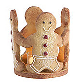 Gingerbread Christmas Tea Light Holder - Christmas Candle Holder