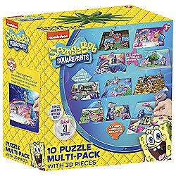 Spongebob Mega Puzzle Pack