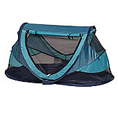 NSAuk Deluxe Pop Up Travel Cot Large Ocean 0-4 Years