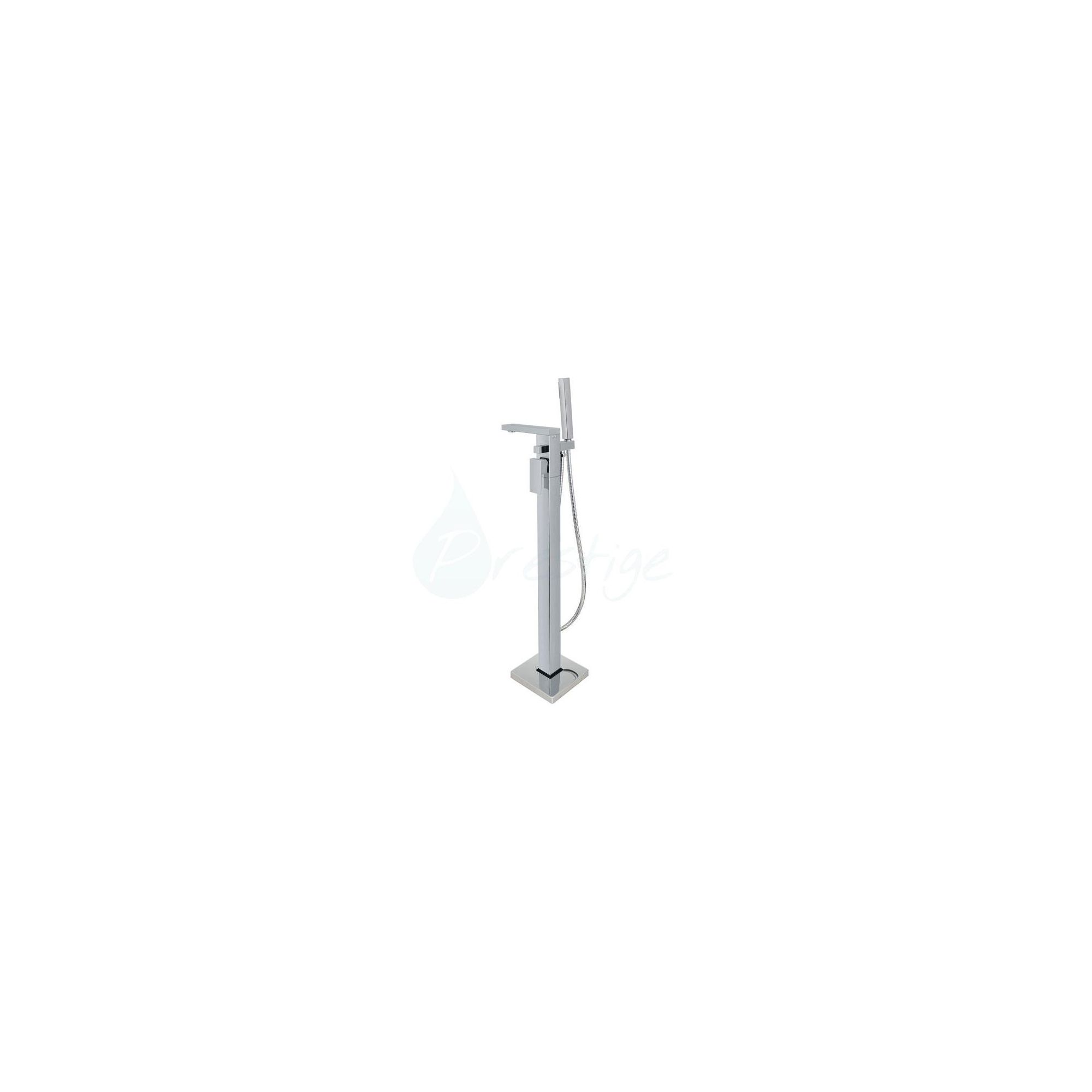 Prestige Massa Freestanding Bath Shower Mixer Tap, Single Handle, Chrome at Tesco Direct
