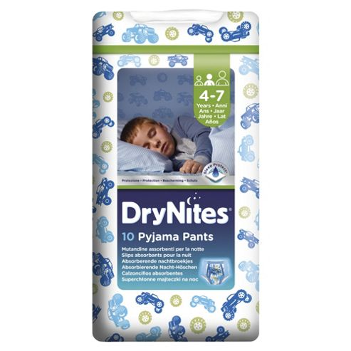 Huggies Dry Nites Pyjama Pants X10 Boy 4-7 Years