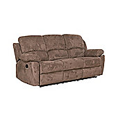 Sofa Collection Constance Recliner Sofa - 3 Seat - Dark Brown