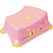 Disney Winnie the Pooh Toilet Training Step Stool - Pink