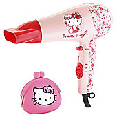 Hello Kitty Pink Hair Dryer