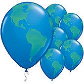 11' Globe Dark Blue (25pk)
