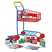 Carousel Shopping Trolley with Food