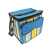 Country Club Large Cool Bag, Blue Stripe