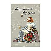 Holy Mackerel Tea Towel- Robert the Bruce