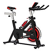 Confidence S3000 Indoor Cycling Exercise Bike W/ 18Kg Flywheel & Pulse Sensors