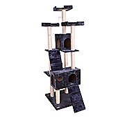 Confidence Pet Presidential Cat Kitten Tree Scratch Post Activity Centre Grey