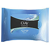 Olay Essentials Gentle Cleansers Sensitive Wipes 20's