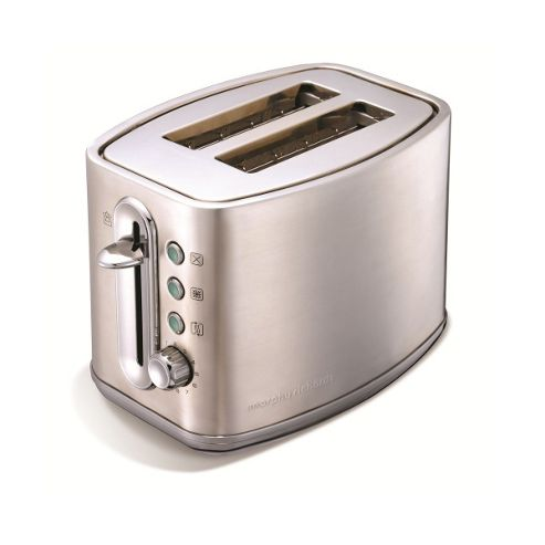 44871 Elipta 2 Slice Toaster in Brushed Stainless Steel