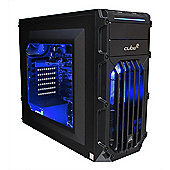 Cube Panther Gaming PC Core i7 Quad Core with Radeon RX 470 Graphics Card Intel Core i7 Seagate 1Tb SSHD with 8Gb SSD Windows 10 AMD Radeon RX 470