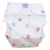 Bambino Mio Miosoft Nappy Cover - Medium (Cool Stars)