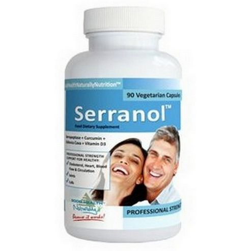 Good Health Naturally Serranol 90 Veg Capsules