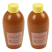 Bigjigs Toys Chocolate Milkshake (Pack of 2)