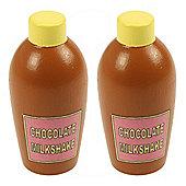 Bigjigs Toys Chocolate Milkshake (Pack of 2)