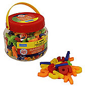 Megcos Tub of Magnetic Letters