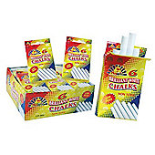 Playwrite Brilliant White Chalks 6 Pack