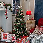 5ft Slender Alpine Fir Green Christmas Tree