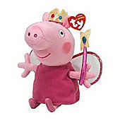 "Peppa Pig Princess - TY Beanie 12"" Buddy"