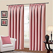 Manhattan Thermal Blackout Curtains 64 x 54 - Pink