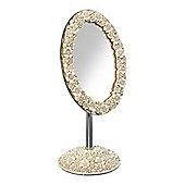Linea Floral Mirror