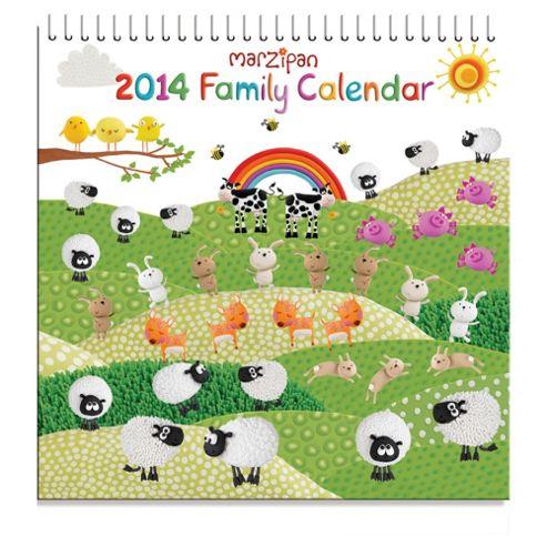 Marzipan 2014 Calendar
