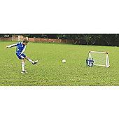 3-in-1 Mini Football Goal Posts Childrens Soccer Training Set