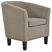 Mayfair Linen Fabric Tub Chair
