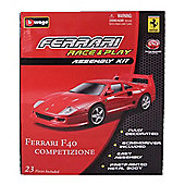 Ferrari Race and Play Assembly Kit F40 Competizione 1/43 Scale
