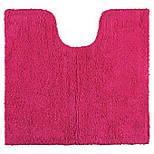 Tesco Reversible Pedestal and Bath Mat Set Raspberry