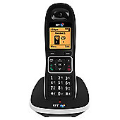 BT 7600 Single Cordless Telephone , Black
