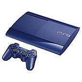 PS3 Azurite Blue 500GB Super Slim Console - Limited Edition
