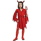 Devil Girl - Child Costume 8-10 years